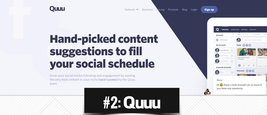 How to use Quuu to fill your social schedule