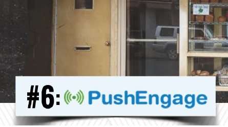 PushEngage notifications for business use