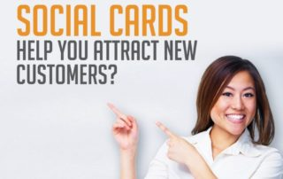 how can social cards help you attract new cusomters