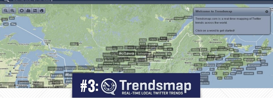 Trendsmap for business marketers