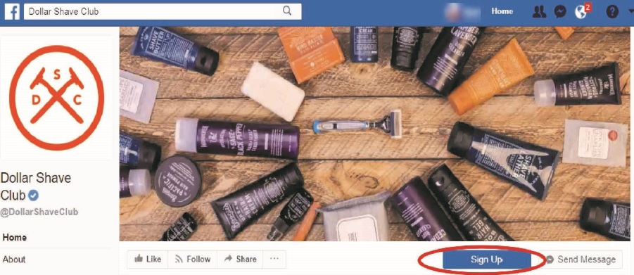 How to Add a Sign Up Button to your Facebook Page